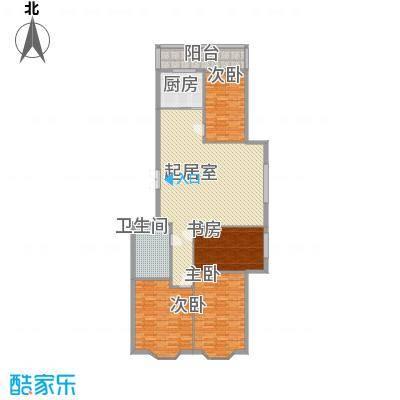 隆庆河畔家园121.20㎡隆庆河畔家园户型图4室2厅1卫1厨户型10室