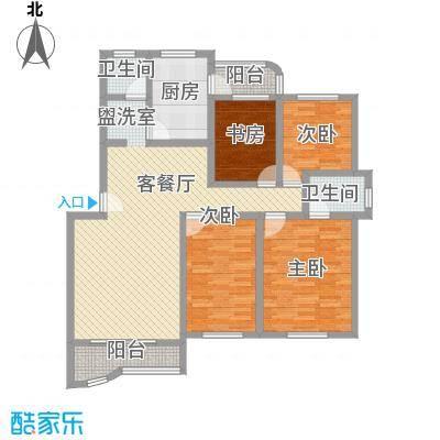 莲浦府邸二期 3室 户型图