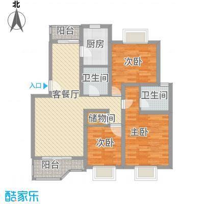 绿地南桥新苑110.00㎡上海绿地南桥新苑(南桥老街)户型10室