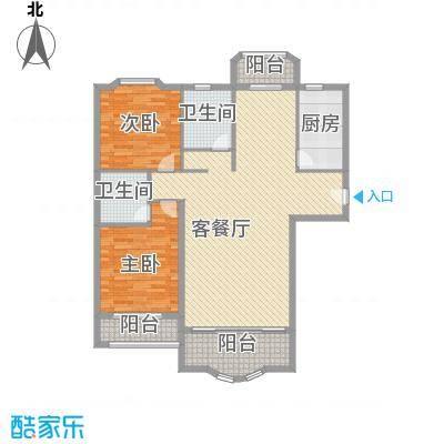 莲浦府邸二期 2室 户型图