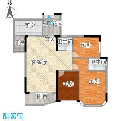 富雅花园富雅花园3室户型3室