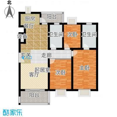 三泉家园129.00㎡上海三泉家园户型10室