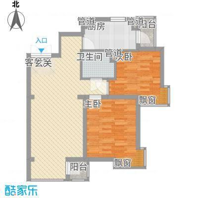 瑞士风情小镇85.77㎡瑞士风情小镇户型图2室2厅1卫户型10室