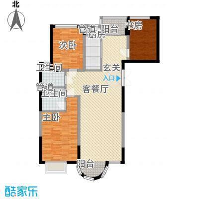 香堤湾137.55㎡香堤湾户型图B户型3室2厅2卫1厨户型3室2厅2卫1厨