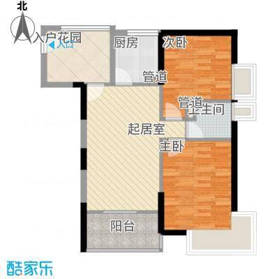 望族家园101.00㎡望族家园2室户型2室