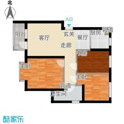 新希望家园97.00㎡新希望家园3室户型3室