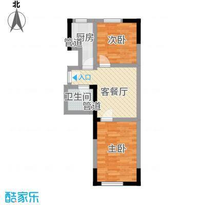 馨阳名都57.00㎡馨阳名都户型图C户型2室2厅1卫1厨户型2室2厅1卫1厨
