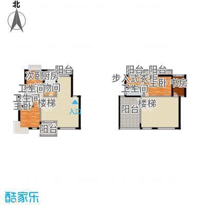 华馨苑别墅155.00㎡华馨苑别墅4室户型4室