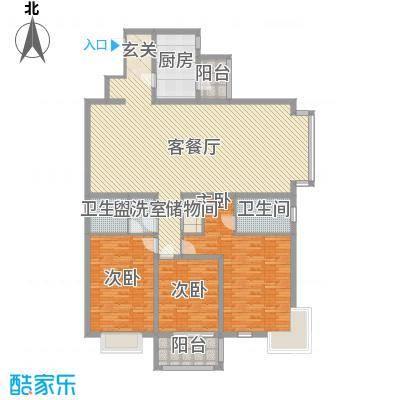 依山居依山居户型图三居室3室户型3室