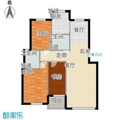绿色家园107.59㎡绿色家园户型图F户型3室2厅2卫户型3室2厅2卫