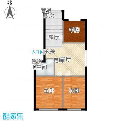 绿色家园92.11㎡绿色家园户型图D户型3室1厅1卫户型3室1厅1卫