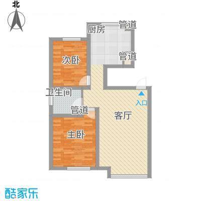 新华壹品91.00㎡新华壹品户型图2室1厅1卫户型10室