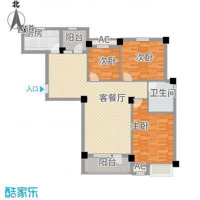 长城世纪华府120.00㎡长城世纪华府户型图户型3室2厅1卫1厨户型3室2厅1卫1厨