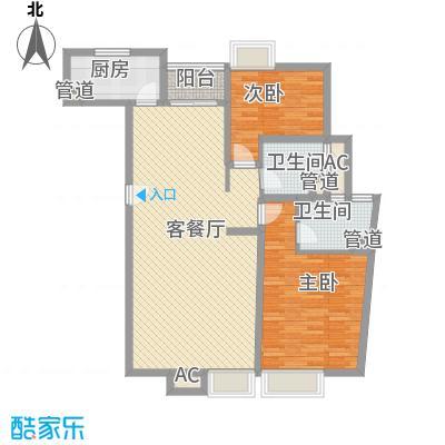 丰景湾名邸130.00㎡上海丰景湾名邸户型图A2户型10室