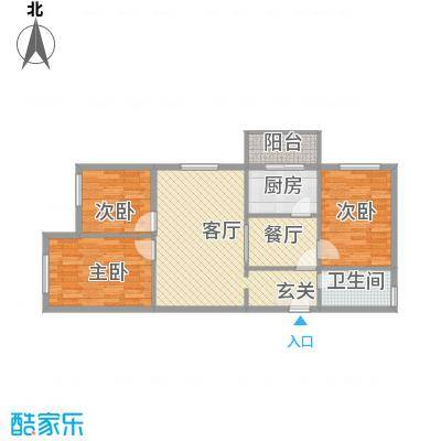 省人大住宅楼99.00㎡哈尔滨省人大住宅楼户型10室