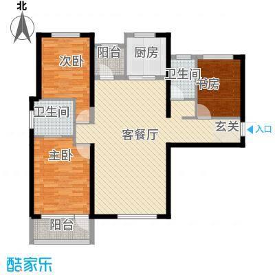 红星海青屿蓝红星海青屿蓝3室户型3室