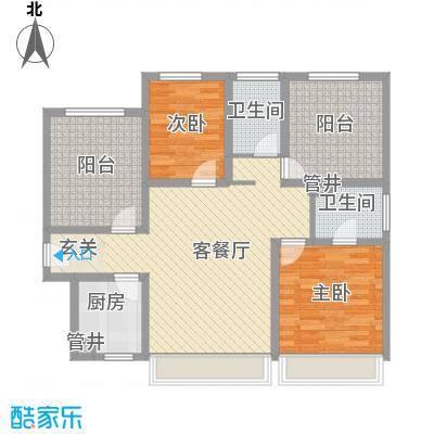 河畔花园河畔花园户型图333室1厅1卫1厨户型3室1厅1卫1厨