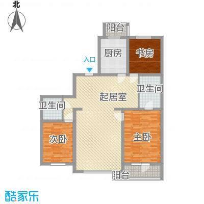 明城花园147.33㎡明城花园户型图3室2厅2卫户型10室