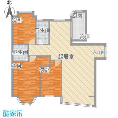 东北明珠东北明珠3室户型3室