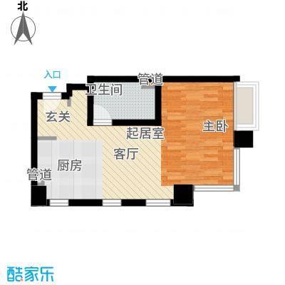 中信德方斯43.00㎡中信德方斯户型10室