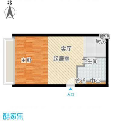 中信德方斯45.00㎡中信德方斯户型10室