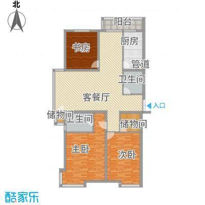 枫景名城179.92㎡枫景名城户型图3室2厅2卫户型10室
