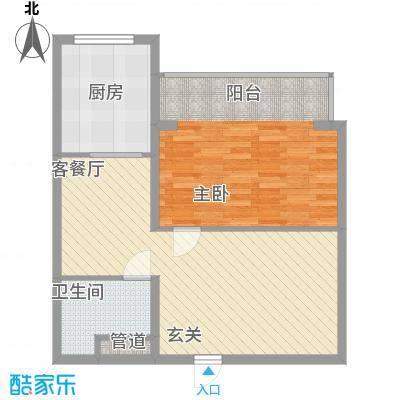 枫景名城75.67㎡枫景名城户型图1室2厅1卫户型10室