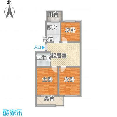 花溪林语72.45㎡花溪林语户型图E户型2室2厅1卫1厨户型2室2厅1卫1厨