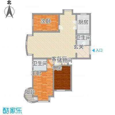 枫景名城150.59㎡枫景名城户型图3室2厅2卫户型10室