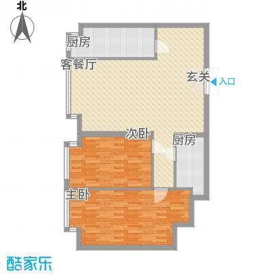 枫景名城109.23㎡枫景名城户型图2室2厅2卫户型10室