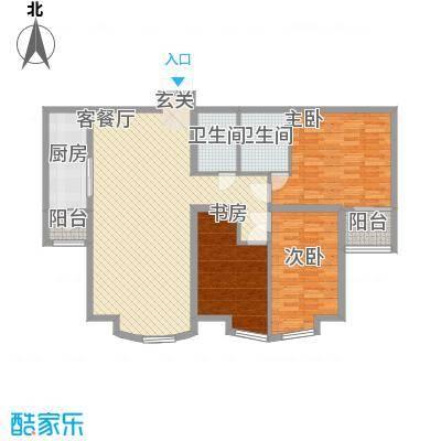 枫景名城137.15㎡枫景名城户型图3室2厅2卫户型10室