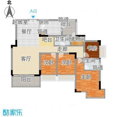 新世界花园叠翠豪庭255.00㎡新世界花园叠翠豪庭4室户型4室