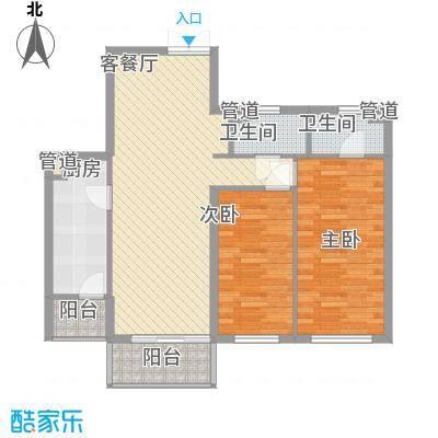 东方剑桥103.82㎡上海东方剑桥户型10室