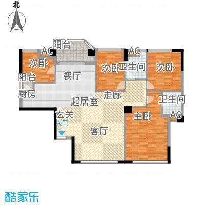 世纪银座世纪银座4室2厅户型4室2厅