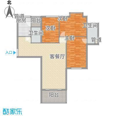 东方剑桥148.22㎡上海东方剑桥户型10室