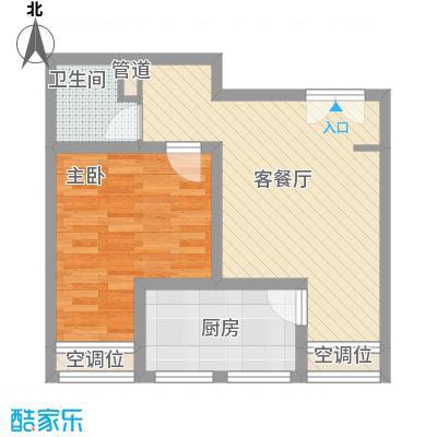 海上硕和城63.46㎡上海海上硕和城户型10室