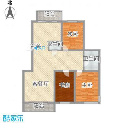 正大江南水乡134.18㎡正大江南水乡户型图43室2厅2卫户型3室2厅2卫