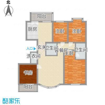 成龙花园163.74㎡成龙花园户型图4室2厅2卫户型10室