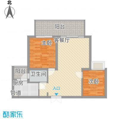 文华花园文华花园户型2室2厅1卫户型2室2厅1卫