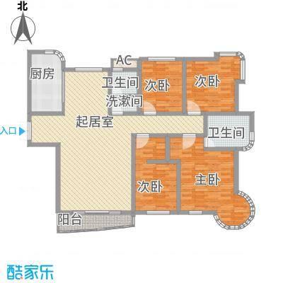 东北明珠169.00㎡东北明珠户型图A户型4室2厅2卫1厨户型4室2厅2卫1厨