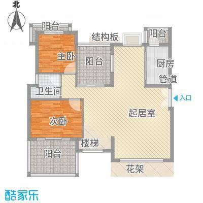 联佳大厦 4室 户型图