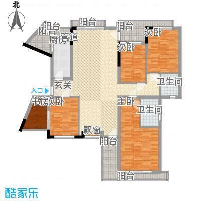 东泰花园景华苑 4室 户型图