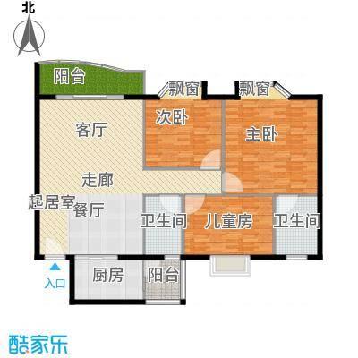 金成翠榕苑143.00㎡金成翠榕苑3室户型3室