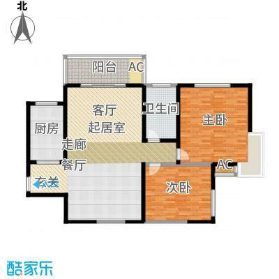金成翠榕苑141.00㎡金成翠榕苑2室户型2室