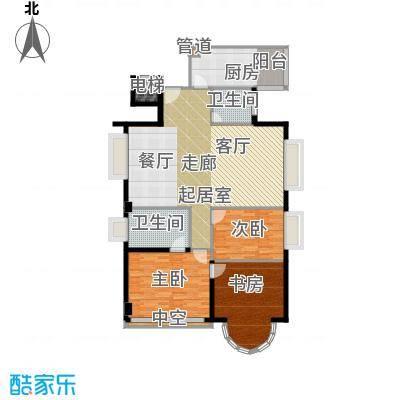 金成翠榕苑140.46㎡金成翠榕苑3室户型3室