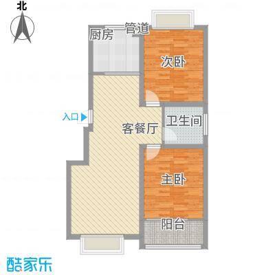 滨河星都104.14㎡滨河星都户型图104.14平米两室2室2厅户型2室2厅