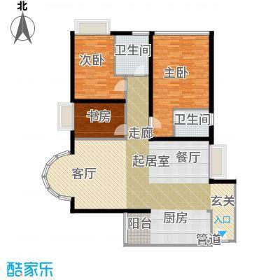 金成翠榕苑139.28㎡金成翠榕苑3室户型3室