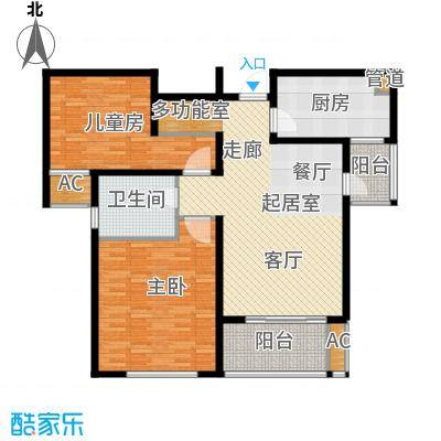 新地国际公寓御景124.00㎡新地国际公寓御景户型图户型图2室2厅1卫1厨户型2室2厅1卫1厨