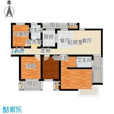 新地国际公寓御景124.00㎡新地国际公寓御景户型图户型图4室2厅2卫1厨户型4室2厅2卫1厨