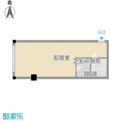 宜景康源113.00㎡宜景康源3室户型3室